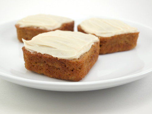 Apple Carrot Maple Cake with Maple Cream Cheese Frosting