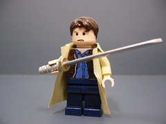 Highlander: Connor MacLeod (Silentmaster OO5) Tags: lego mmcb fineclonier