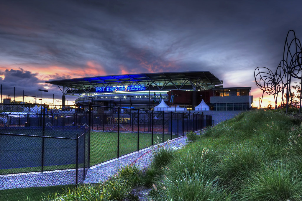 Day 8 - Pat Rafter Arena - HDR