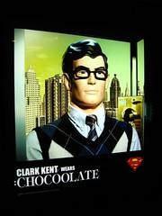 clark kent wears chocolate