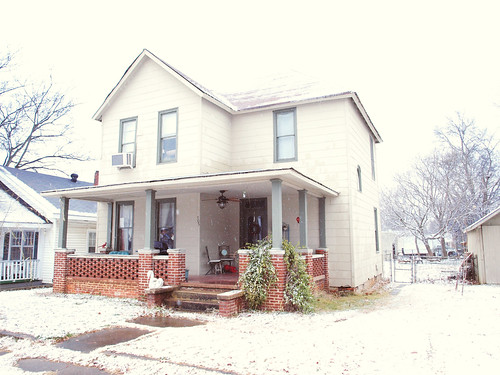 Our House in Snow