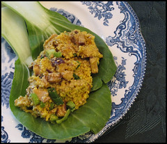 raw food, asian scramble