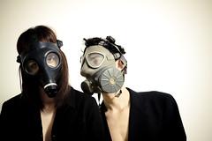 Future is waiting... (Ventura Mendoza a.k.a. Miurihausen) Tags: fashion moda gas mascara ventura strobist miurihausen