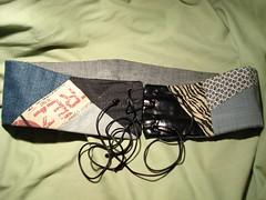 Cinturón tela reciclada