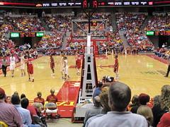 Cyclones vs. Huskers women basketball (cmlburnett) Tags: basketball women nebraska isu cyclone huskers iowastateuniversity