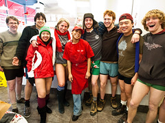 The Five Guys Crew Requested A Picture (Taekwonweirdo) Tags: cta underwear prank l redline undies underpants nopants pantless 2010 elevatedtrain undergarment chicagoillinois improveverywhere chicagoans barelegs wecausescenes 9thannualnopantssubwayride