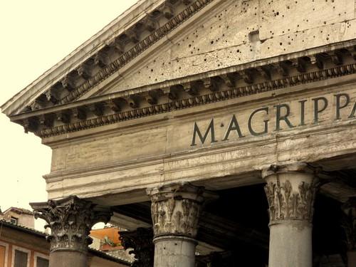 Pantheon detail