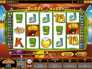 Curry in a Hurry slot game online review