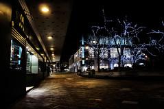 Mcdonalds [345/365] (Wo0d5t0cK) Tags: swansea night lights nikon mcdonalds citycenter hdr d90 castlesquare
