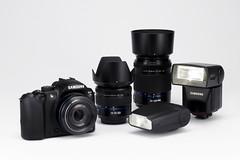 NX10 full set (Samsung SG) Tags: camera samsung ces nx10