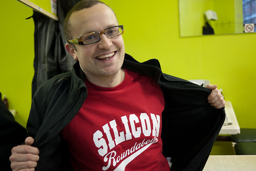Surprise Silicon Roundabout merch