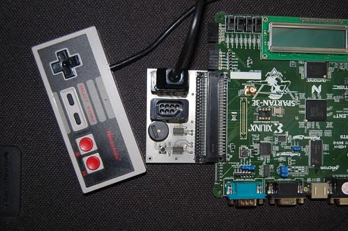 NES adapter for Spartan-3E dev board