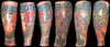 Japanese Leg Sleeve Tattoo - Giesha, Dragon & Foo Dog This was a