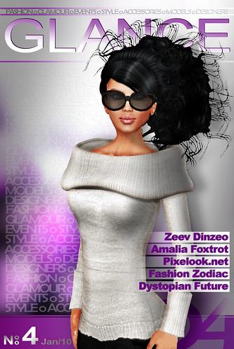 GLANCE Magazine January 2010 Cover