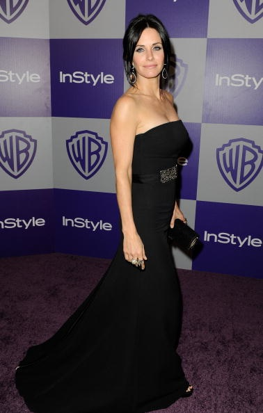 Globos de Oro 2010 Courteney Cox