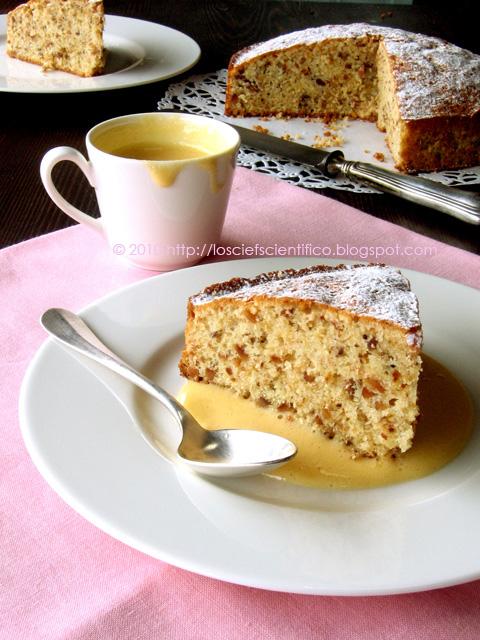 Hazelnut Torte with Moscato Zabaglione