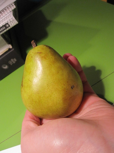 Perfect pear from the bistro - free