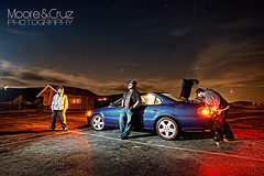 SOCAL Styling!!!!! (BigBoyDrums (www.hectorcruzphoto.com)) Tags: lighting city portrait beach night michael nikon long exposure angle wide environmental gary 28 nikkor acura bandy fong 1735mm sb800 strobist d700 smgallery bigboydrums mooreandcruzcom