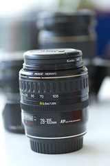 Canon EF 28-105mm f3.5-4.5 (- yt -) Tags: lens canoneos canonef28105mmf3545 sigma70mmf28dgmacro