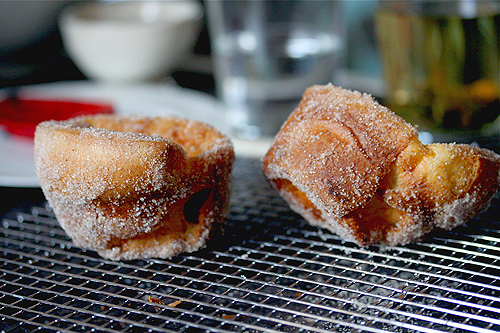 sugared popovers