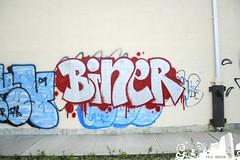 Biner (Into Space!) Tags: railroad ny newyork canon graffiti li photo longisland lirr 631 516 biner intospace intospaces