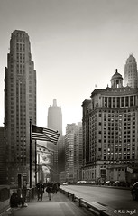 Chicago Time Travel (rjseg1) Tags: chicago sepia michiganavenue carbon mather segal carbide londonguaranty rjseg1