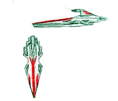 Republic Cruiser Concept Art