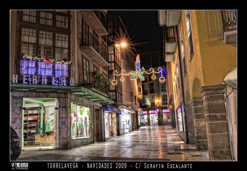 Torrelavega - Calle Serafín Escalante - Navidades 2009