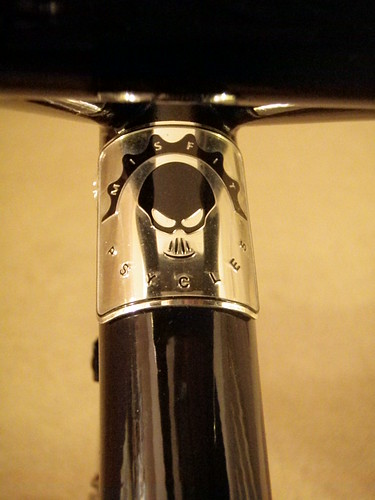 Seat tube badge