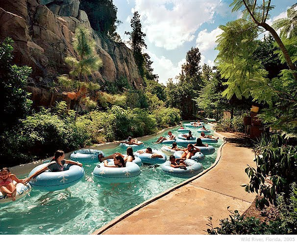 "USA, Florida, Orlando: Disney waterpark ""Typhoon Lagoon"""