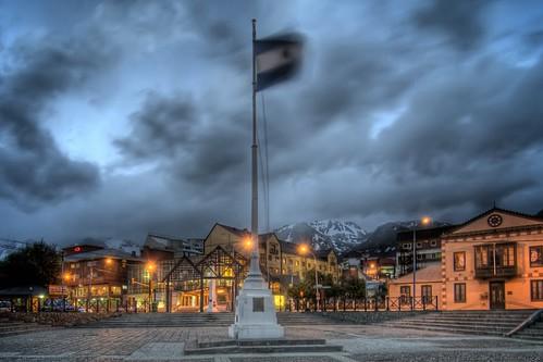Nighttime in Ushuaia