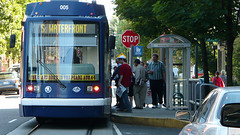 the Portland Streetcar (courtesy of Reconnecting America)