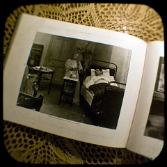 14/365 - The weekly flea market find (Aniara Trast) Tags: film book sweden tablecloth anscoflex filmdirector silentmovies ttv betweenlifeanddeath ttv365 georgafklercker