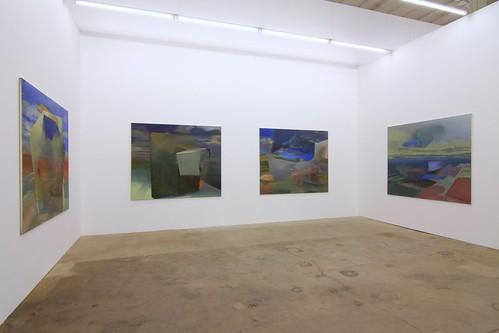 2. Raum rechts Filipp Rosbach Galerie  Leipzig Mai 2008 Foto:Thomas Steinert