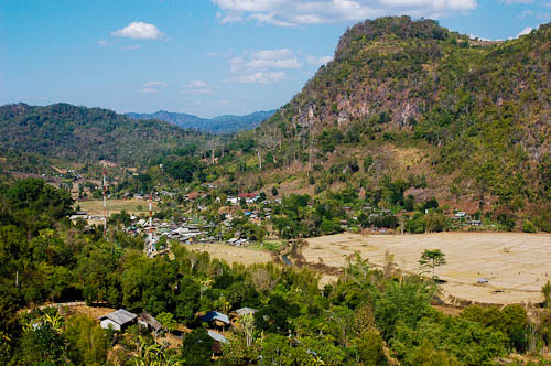 Mae Lana, a village in Mae Hong Son, northern Thailand