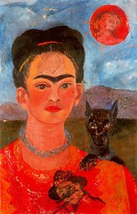 Frida Kahlo - Self-portrait 1954