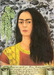 Frida Kahlo - Self-Portrait with inscription, 1947