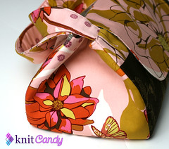 "Knit Candy To-Go Bag - ""Sketchbook"" (extra long)"