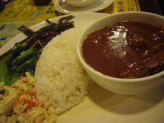 紅酒牛腩飯 ($180)