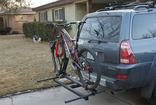 My Diy Hitch Rack Mtbr Com