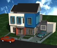 Rumah Sudut Permata Legenda by Indograha Arsitama Desain & Build