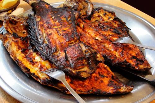 pescado zarandiado