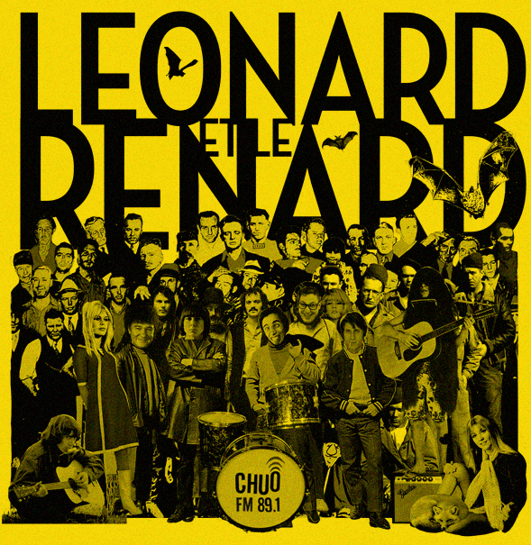 Leonard et le Renard : chuo89.fm radio show