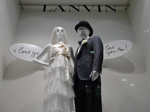 Vitrines Lanvin - Paris février 2010