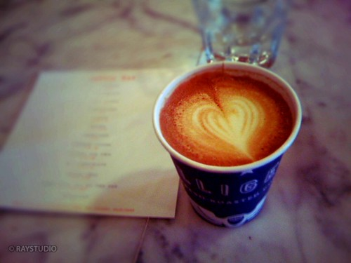 [iPhone] Cappuccino@Intelligentsia