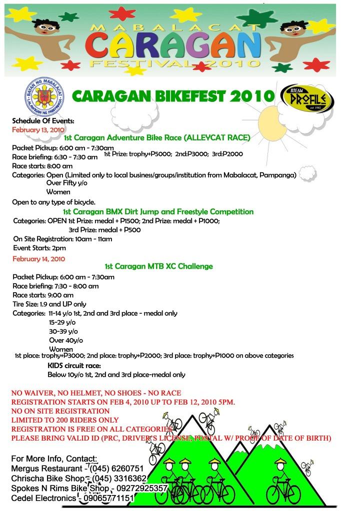 caragan bikefest 2010