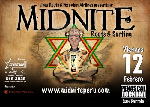 Midnite - Peñascal Rock Bar