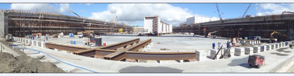 Porta batel será levada para a ponta do dique, na margem do canal do porto. Crédito: Divulgação
