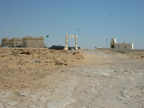 Mauritanian border post