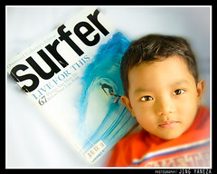 Stoked (Jingyaneza) Tags: blue portraits children photography glamour nikon photographer philippines jing streetkids rockon masbate stoked d80 surfermagcom jingyaneza julianjose